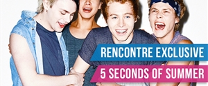 Rencontrez les 5 Seconds of Summer