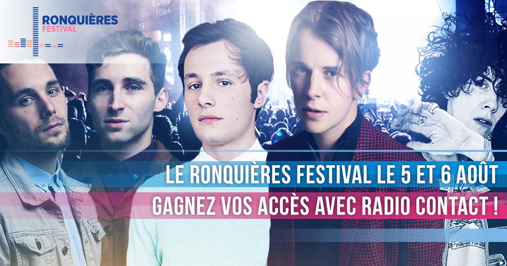 Gagnez vos accès pour le Ronquières Festival
