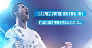 Gagnez votre PS4 et le nouveau FIFA 18 !