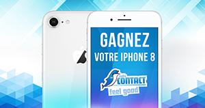 Gagnez votre iPhone 8 avec le 16-20 !