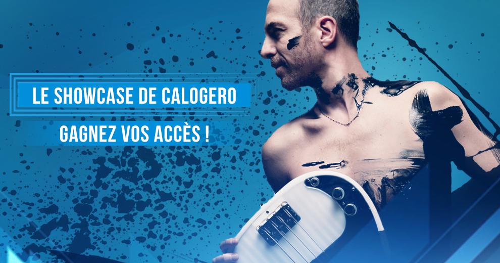 Gagnez vos accès pour le showcase de Calogero !