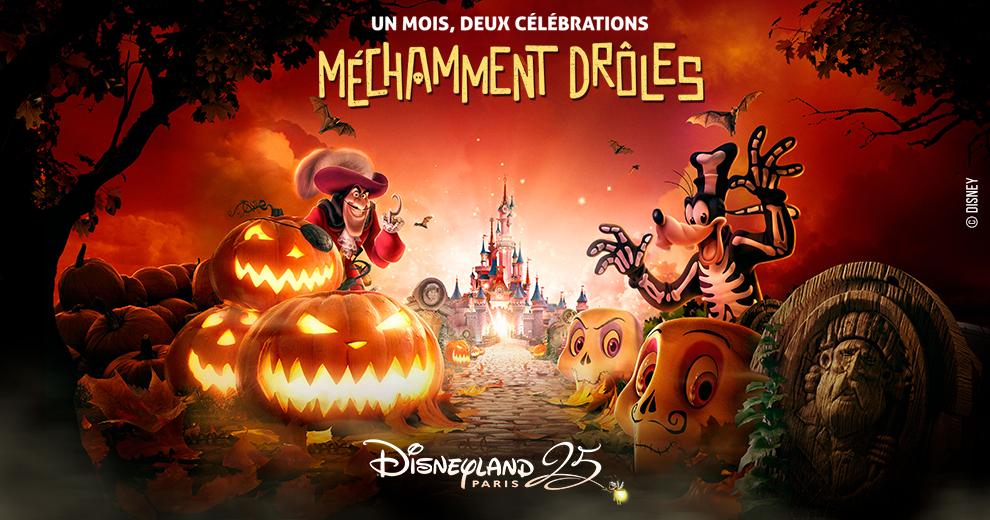 Frissonnez de plaisir et fêtez Halloween à Disneyland Paris avec Radio Contact !