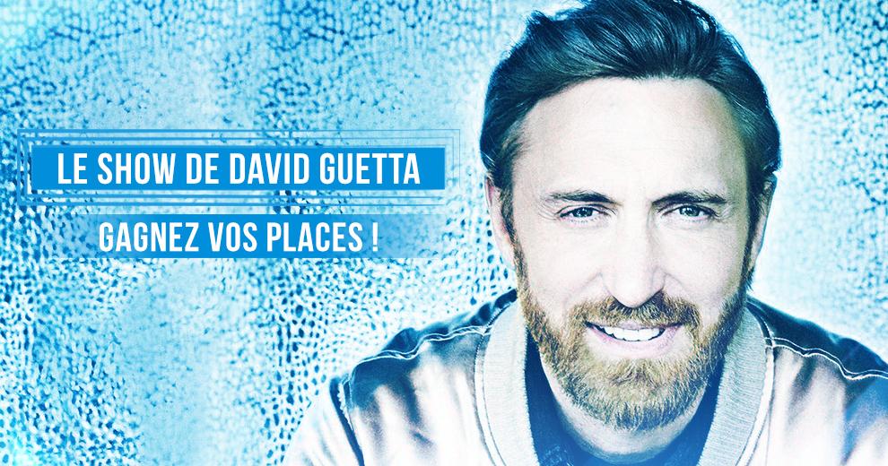Gagnez vos places pour le show de David Guetta !
