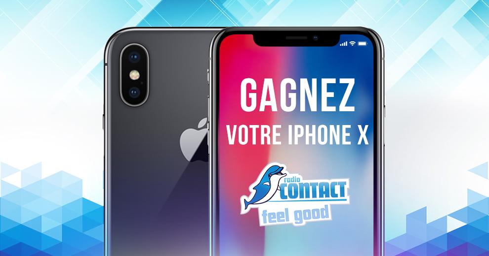 Gagnez votre iPhone X  !