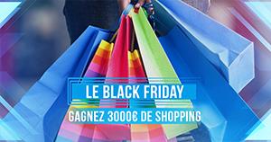 Gagnez 3000€ de shopping !