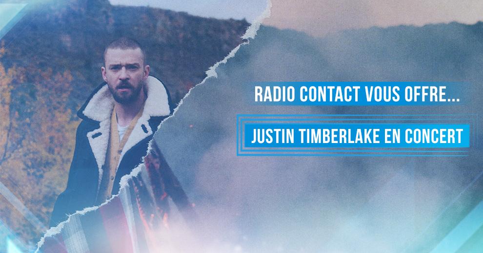 Gagnez vos accès pour le concert exclusif de Justin Timberlake