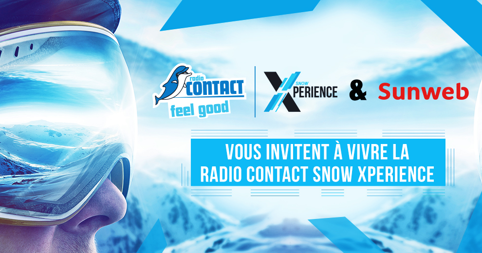 Vivez la Radio Contact Snow Xperience en avril