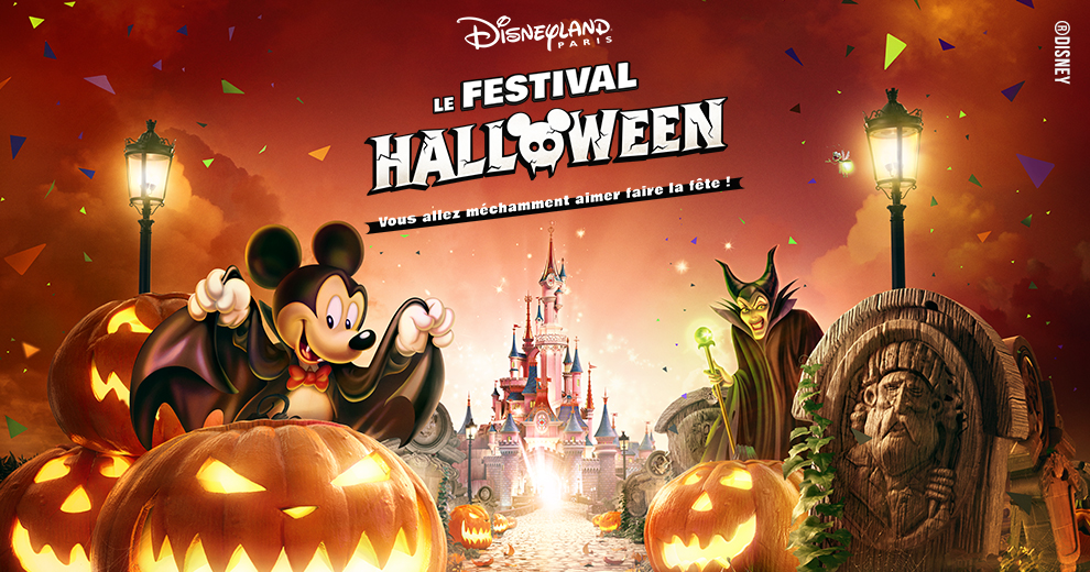 Fêtez Halloween à Disneyland® Paris avec Radio Contact !