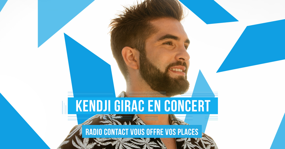 Assistez au Contact On Stage de Kendji Girac le 19 décembre