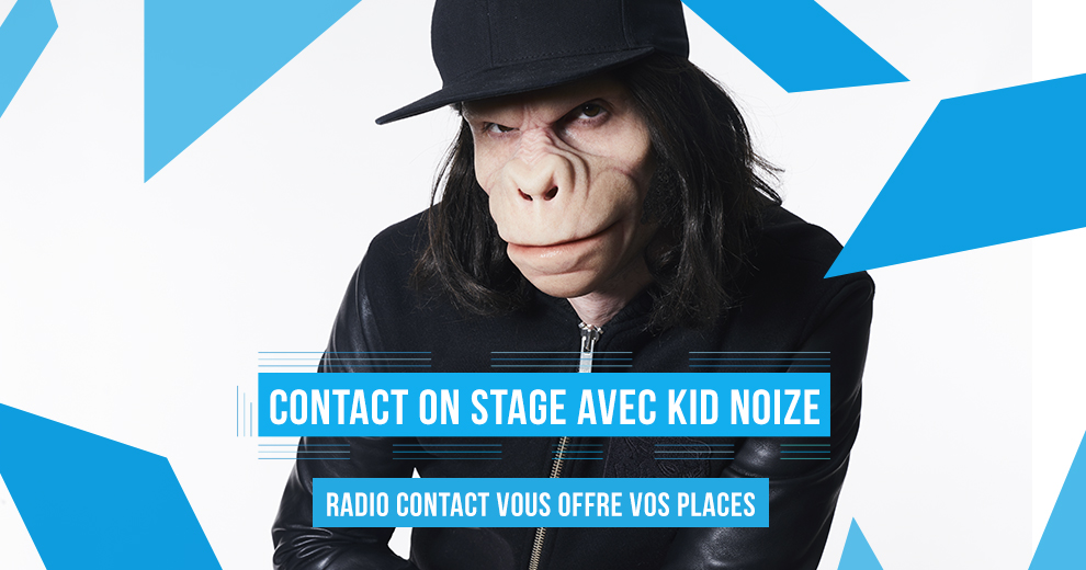 Assistez au Contact On Stage de Kid Noize