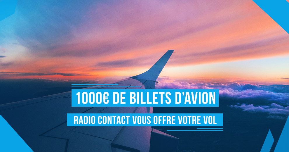 Partez en week-end avec... Radio Contact Airlines