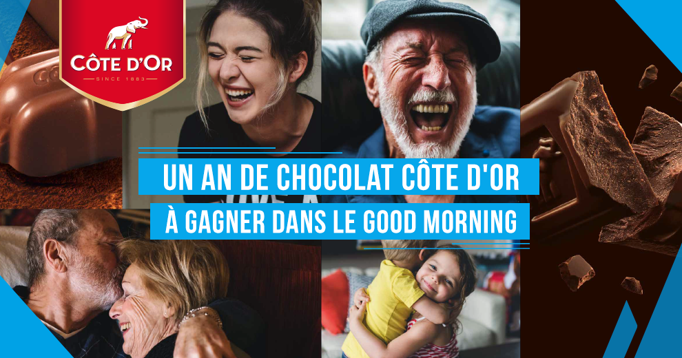 Un an de chocolat Côte d'Or grâce à Radio Contact