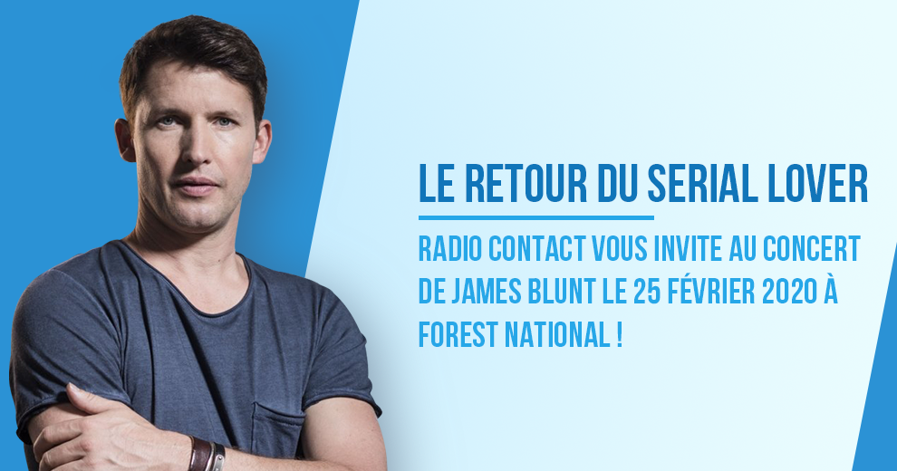 Assistez au concert de James Blunt !